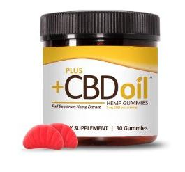 CV Sciences CBD Oil Gummies (Cherry Mango)