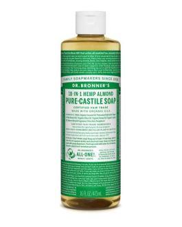 Dr. Bronner's Almond Castile Liquid Soap (16oz)