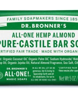 Dr. Bronner's Almond Castile Bar Soap