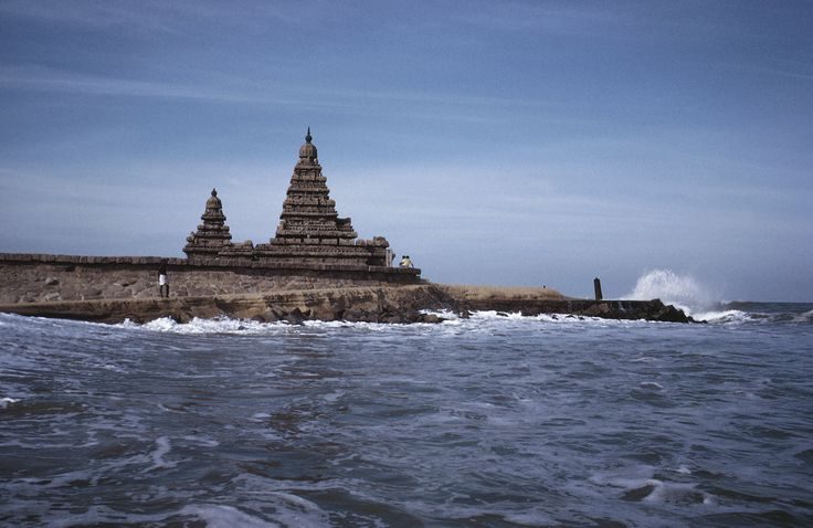 The submerged Temples of Mahabalipuram