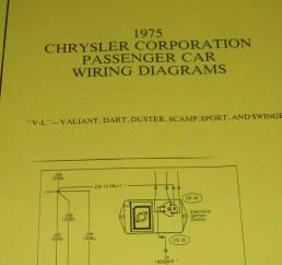 1975 chrysler plymouth wiring diagram v l  [ 3264 x 2448 Pixel ]
