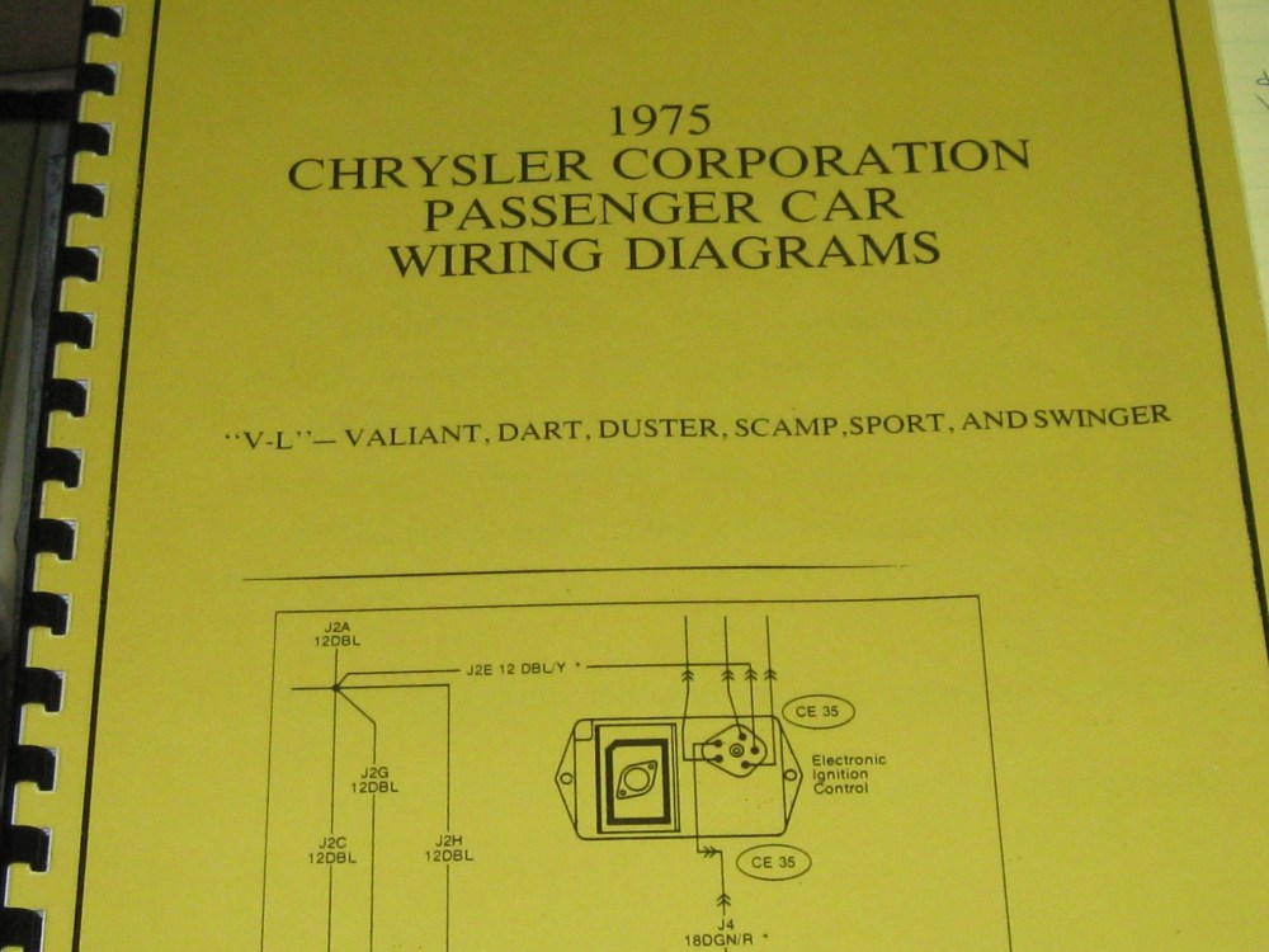 medium resolution of 1975 chrysler plymouth wiring diagram v l