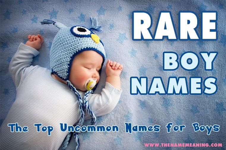 Names List Meaning Unique Boy