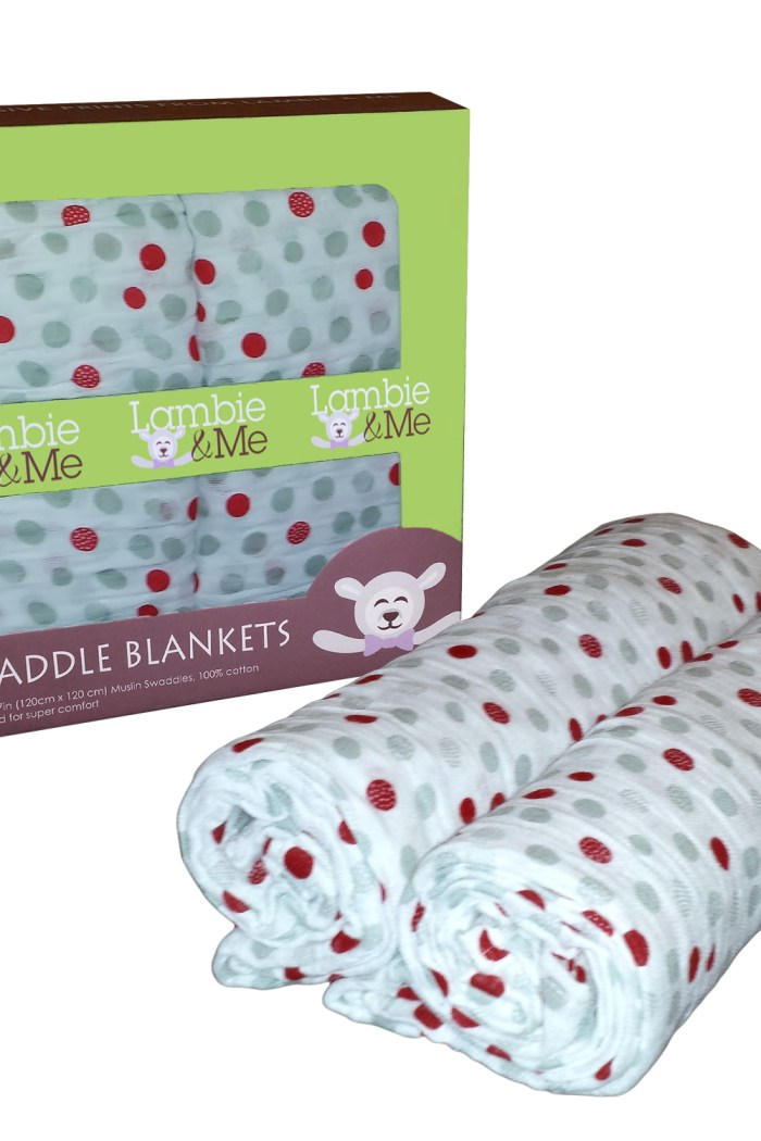 Lambie and Me Swaddle Blankets Giveaway