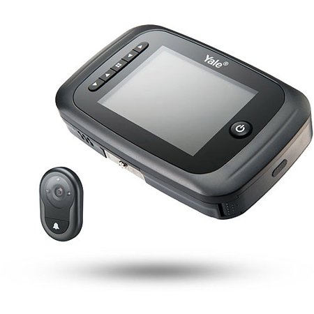 Yale AYRD-DDV7001-61 Digital Door Viewer with Recorder, Black