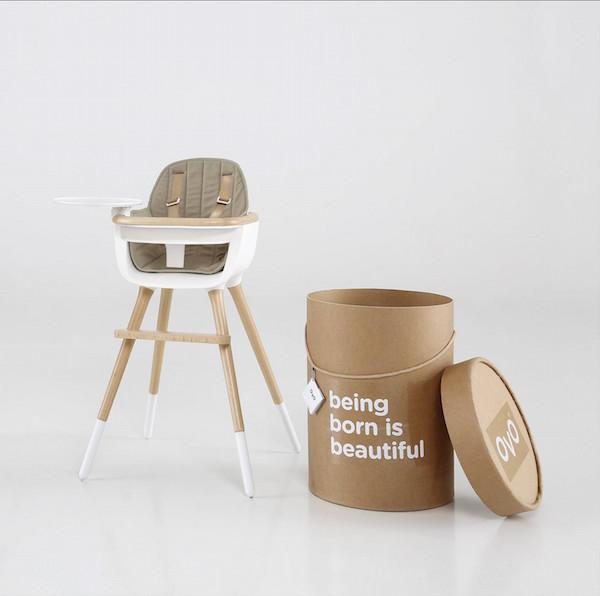 Micuna Highchair - Nursery Inspiration - Modern Nursery