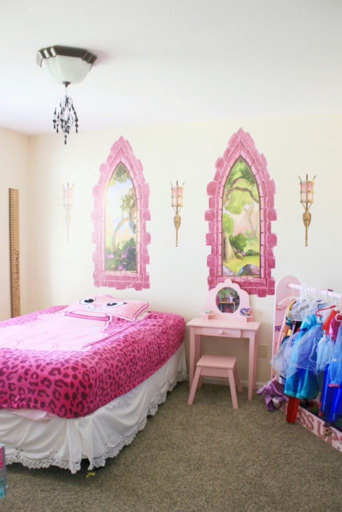 Pink Princess Room Ideas - Wall-Ah Wall Decals Review • The ...