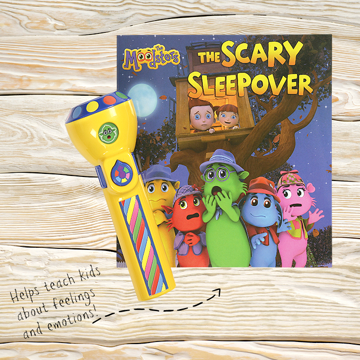 The Moodsters Flashlight and Book