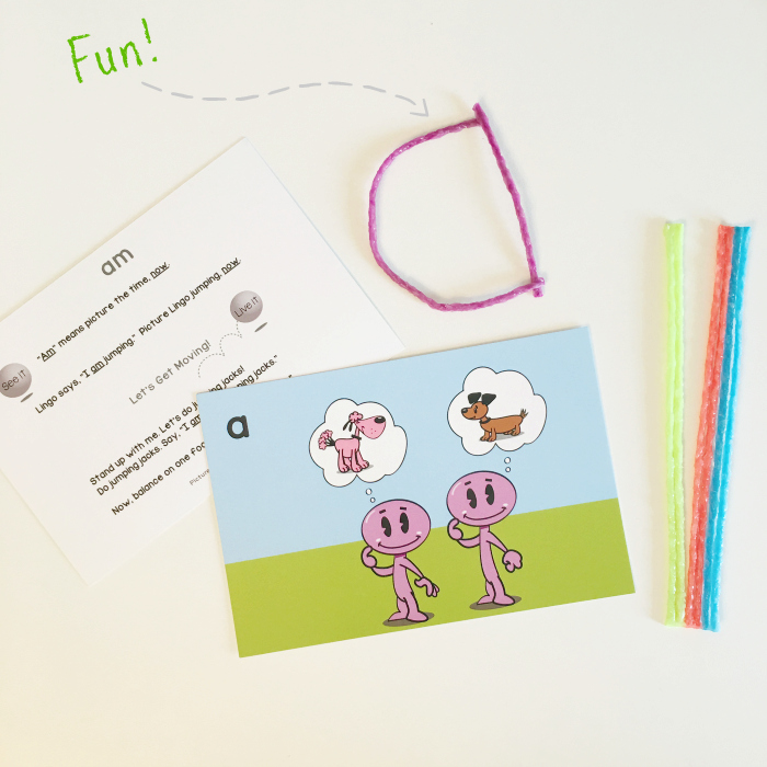 Wikki Sticks and Sight Words