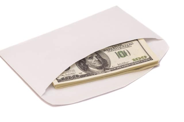 The modern day envelope or all cash system.