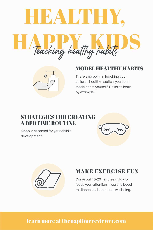 Teaching children healthy habits