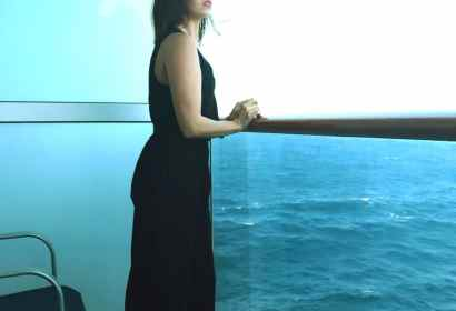 vionic shoes - black wedges-cruise balcony