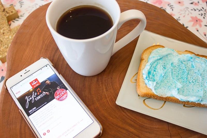 Mermaid Toast - Coffee