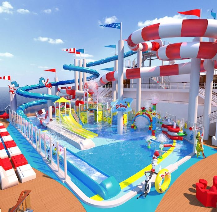 Dr. Seuss WaterWorks on Carnival Horizon