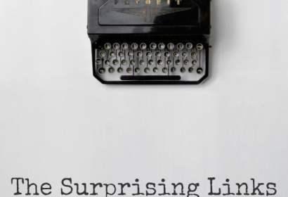 typewriter graphic modern tech