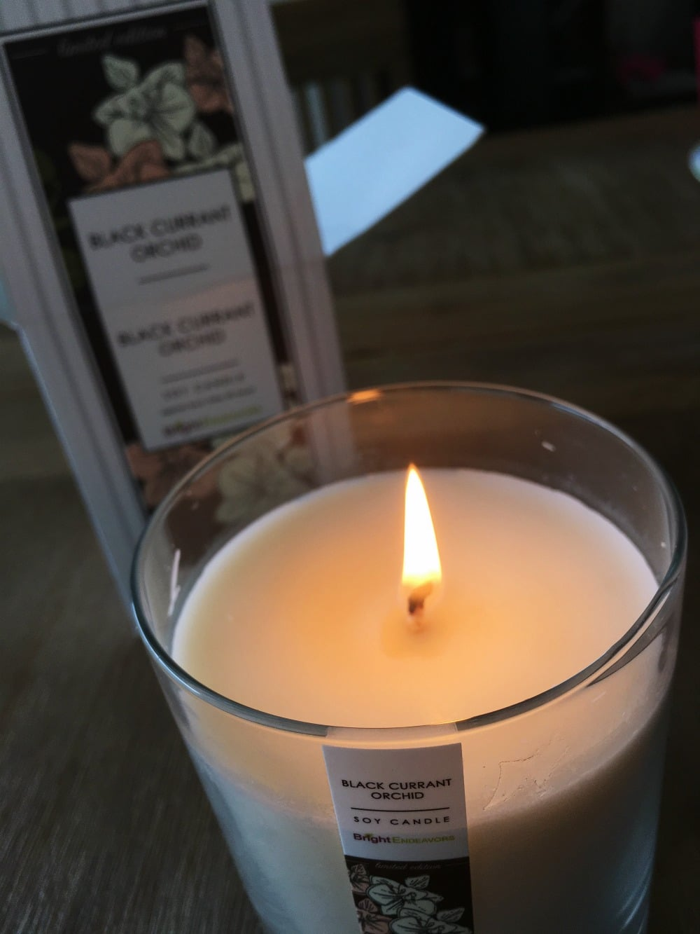 bright endeavors candle
