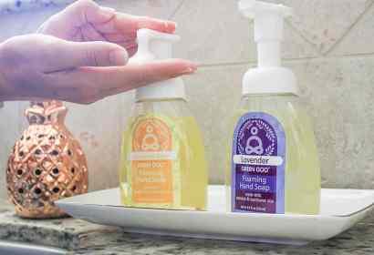 Green Goo hand soap