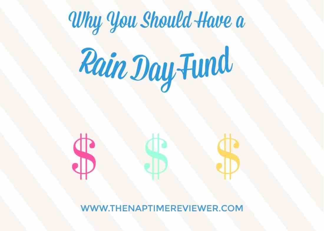 Why you should always keep a rainy day house fund.