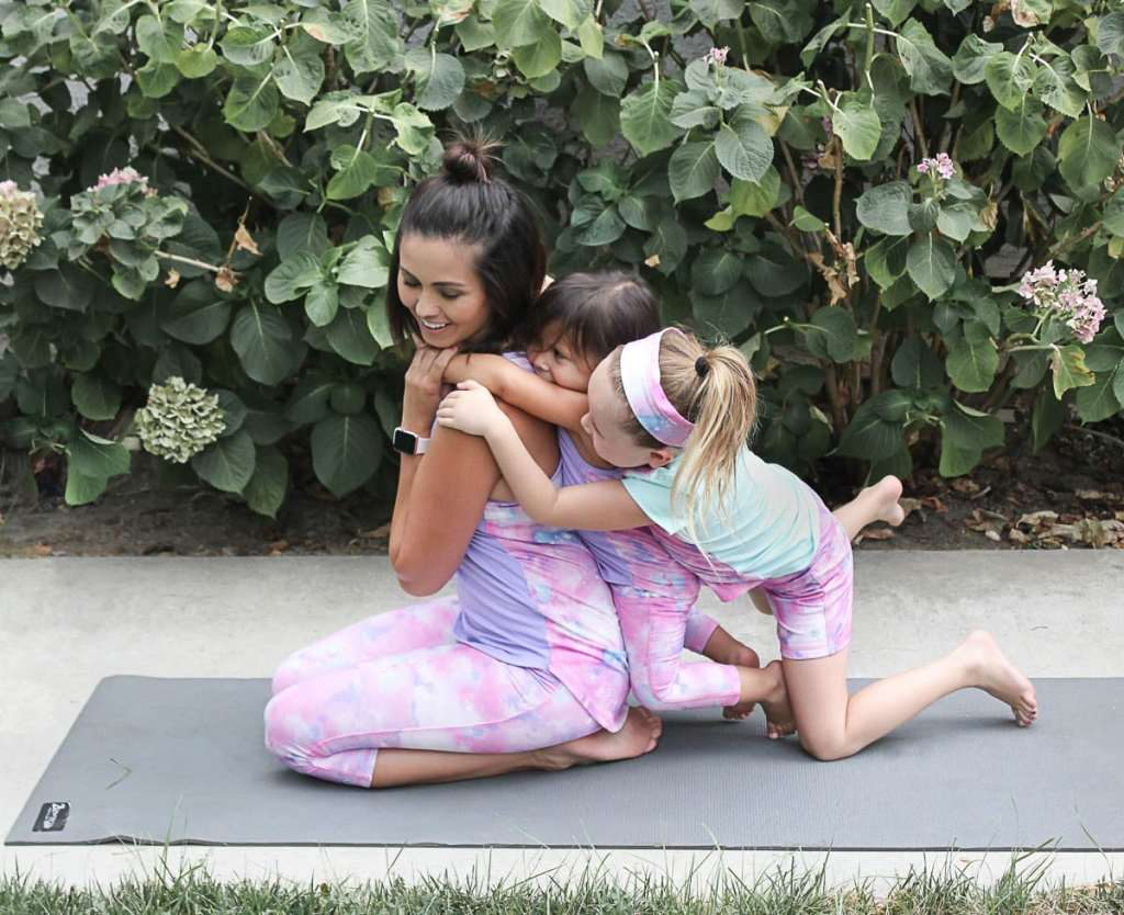 Mommy and Me Yoga Clothes - Healthy Morning Habits