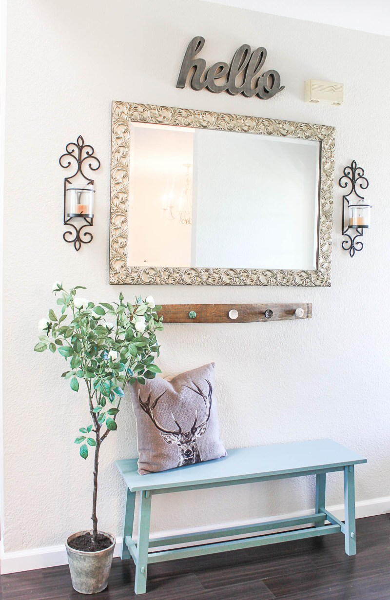 French Country/Coastal Entryway