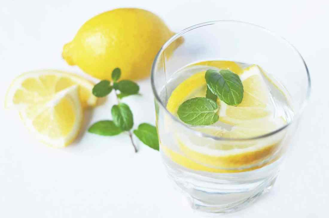 Fresh lemon Water for Health