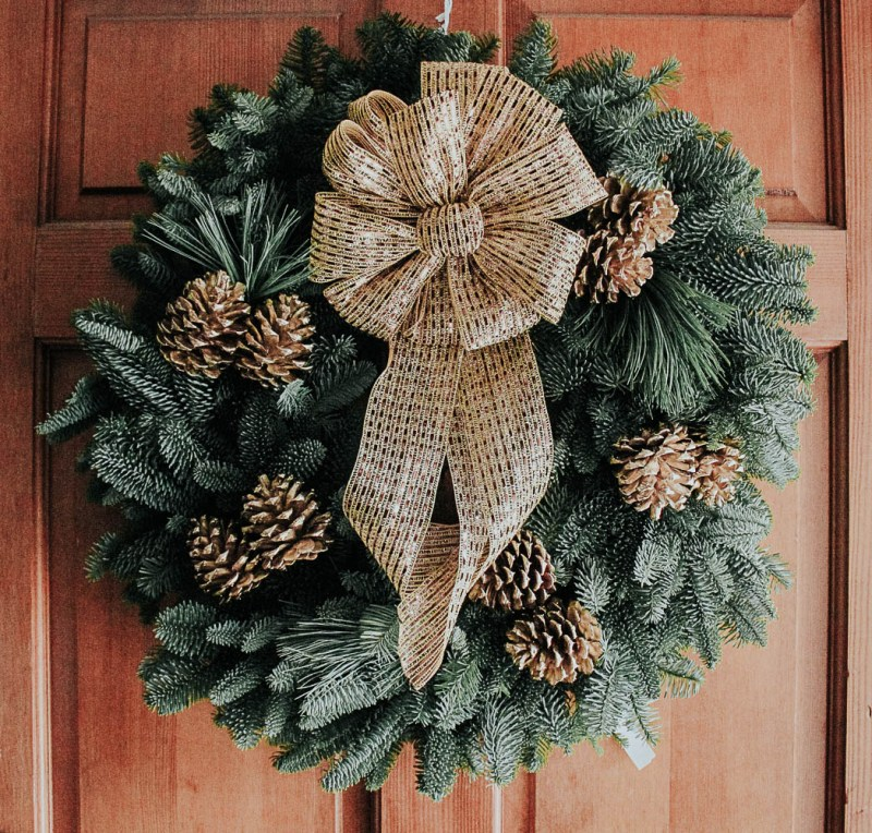 Fresh Christmas Wreath Ideas