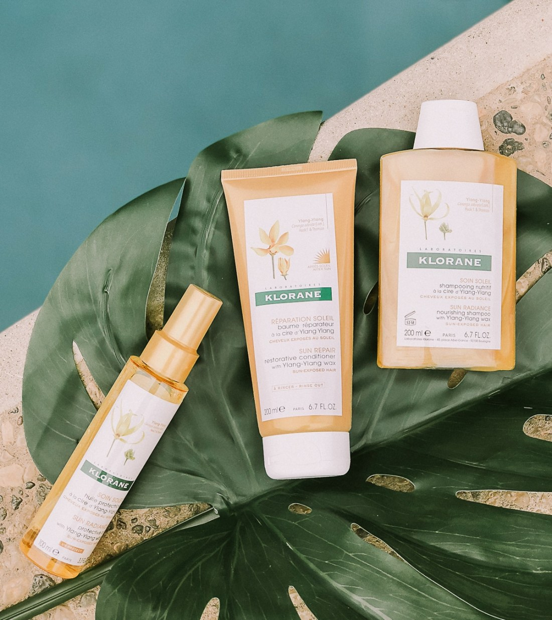 Klorane Sun Radiance Hair collection - products for sun exposure
