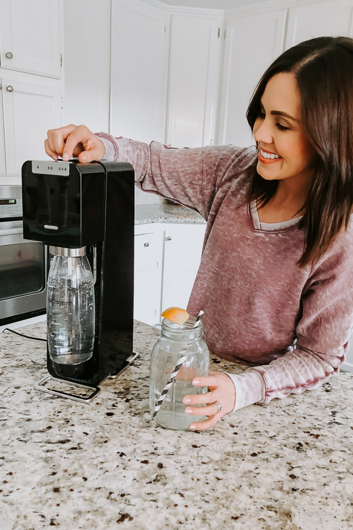 SodaStream Power Review + Whole30 Approved Spritzer Recipes