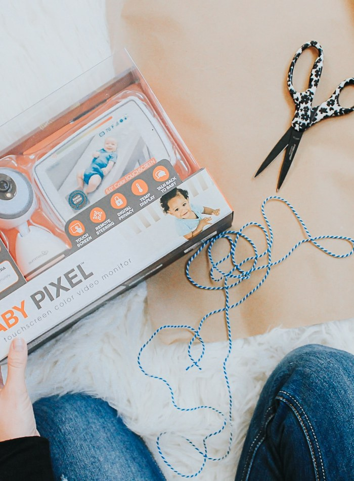 """Baby Pixel™ 5.0 Inch Touchscreen Color Video Monitor Review + Tips for Maximizing """"Me Time"""" While Baby Naps"""