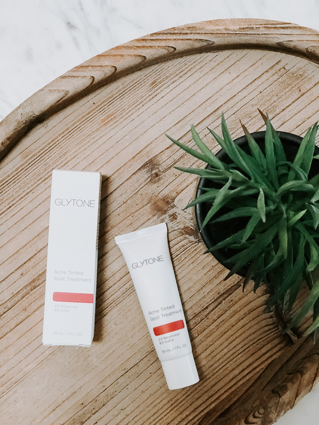 Tinted Acne Spot Treatment product from Glytone