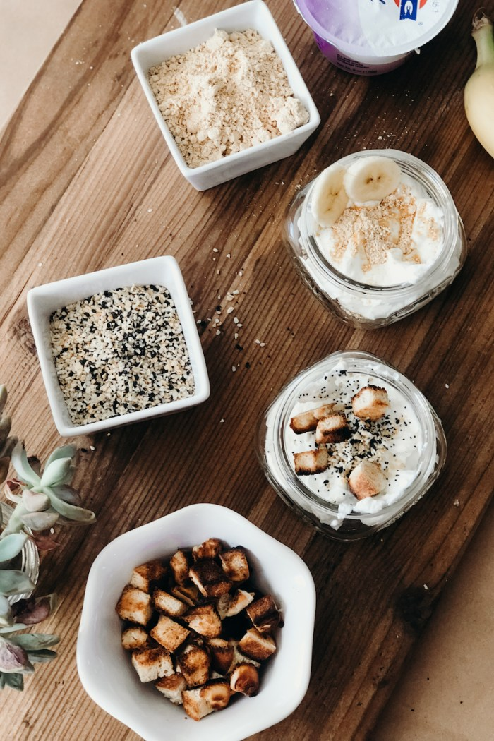 Sweet and Savory Yogurt Bar Ideas for After School Snacks