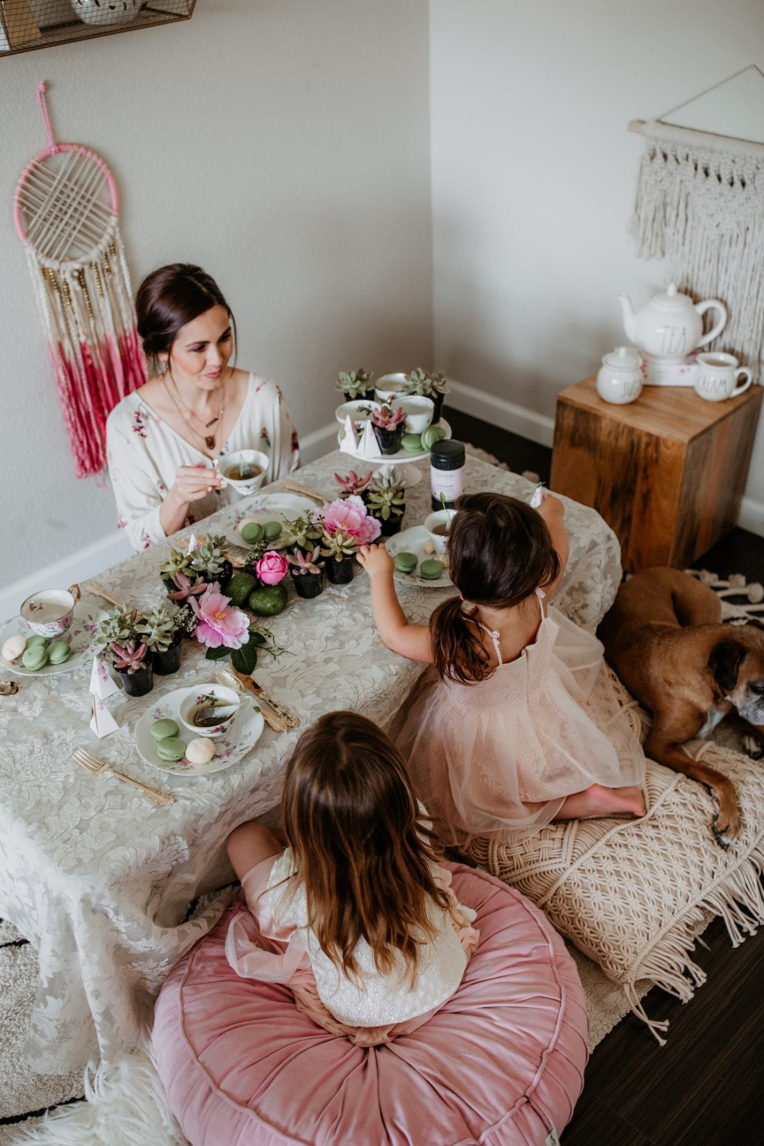 Boho Tea Party Decor