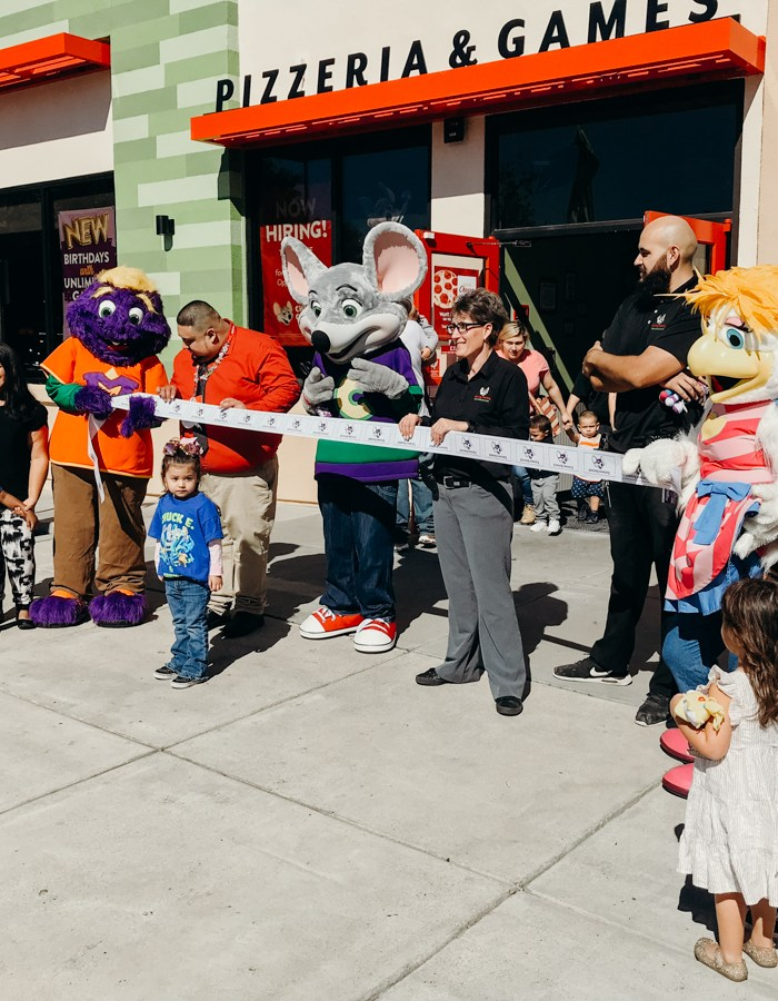 Stockton Chuck E. Cheese's Remodel
