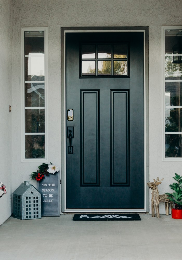 Christmas Front Porch Decor Ideas