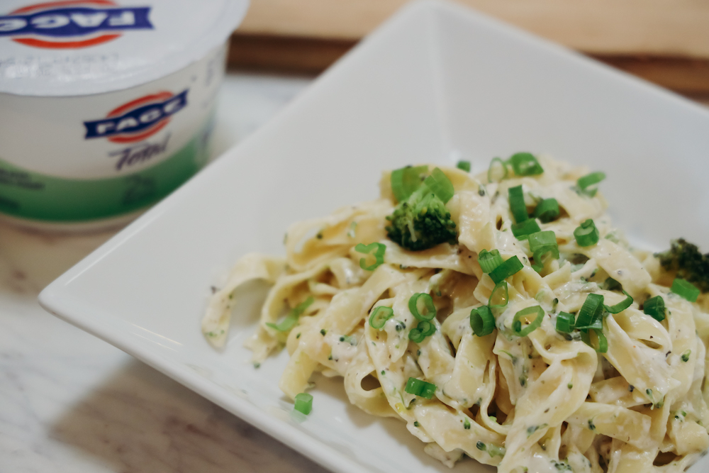 Greek Yogurt Alfredo Recipe - Kid-Friendly Dinner and Dessert Recipes with Greek Yogurt