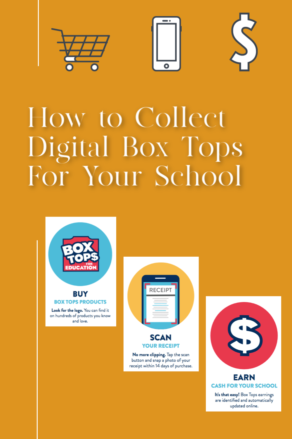 how to collect digital box tops for your school