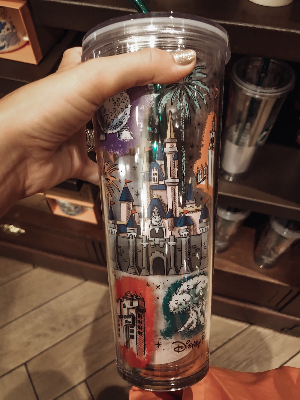 Disney World Starbucks Halloween Cup Image