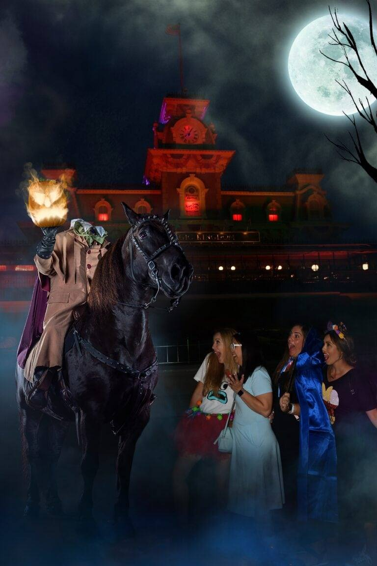 Headless Horseman Disney Photo