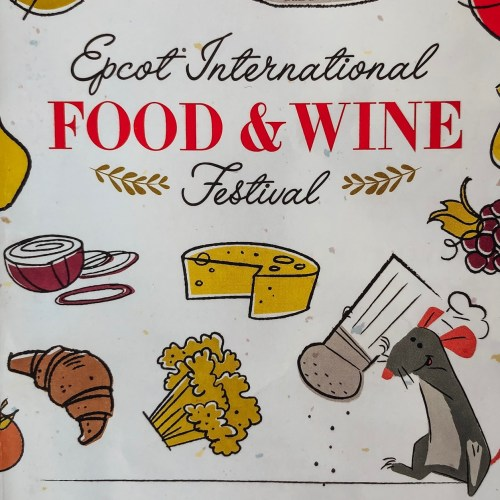 Epcot International Food and Wine Festival menus