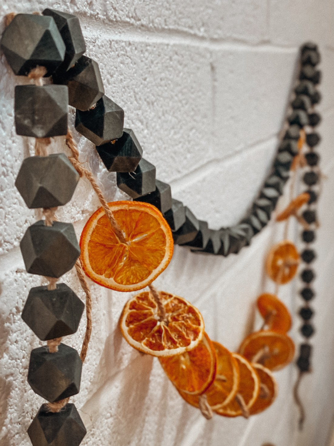 Christmas Garland - Dried Oranges