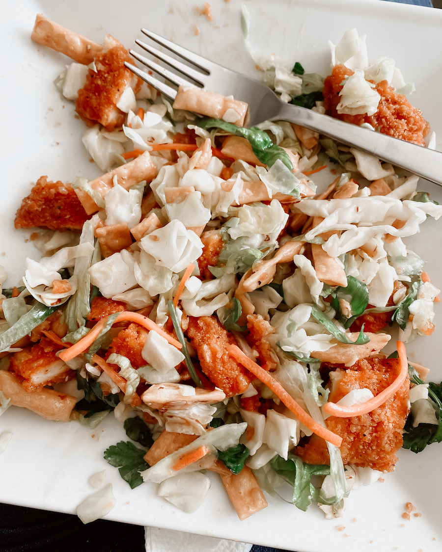 Asian Chicken Salad with Perdue Farms Chicken