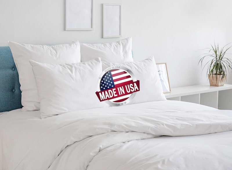 Bedding and Pillows made in the USA
