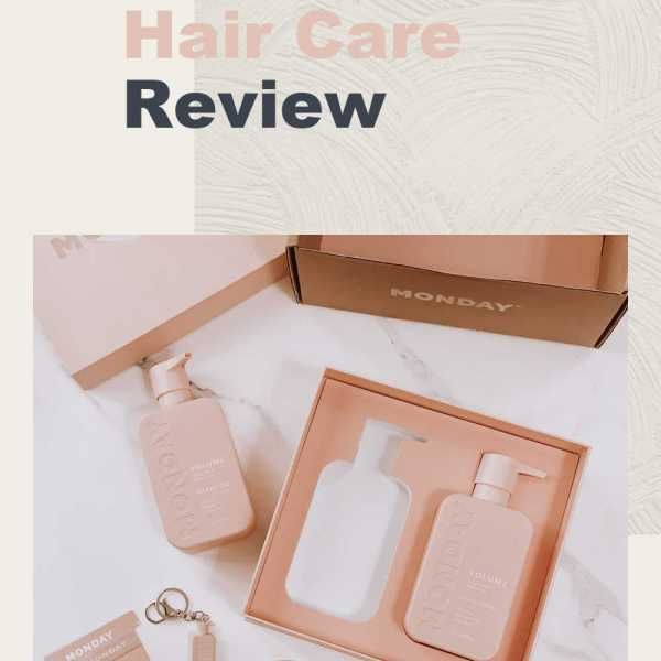 MONDAY Hair Care Review