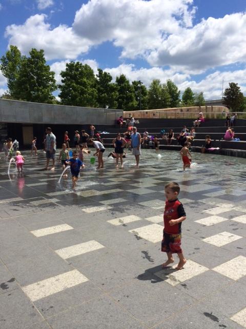 Try it this week: Sprayground at Cumberland Park