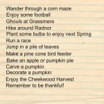 Nashville Fall Bucket List