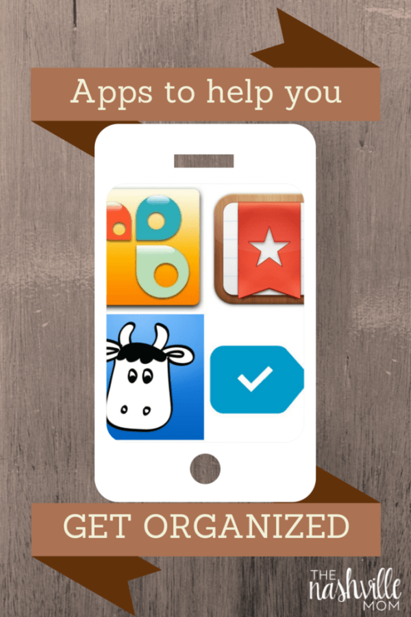Apps to help moms organize