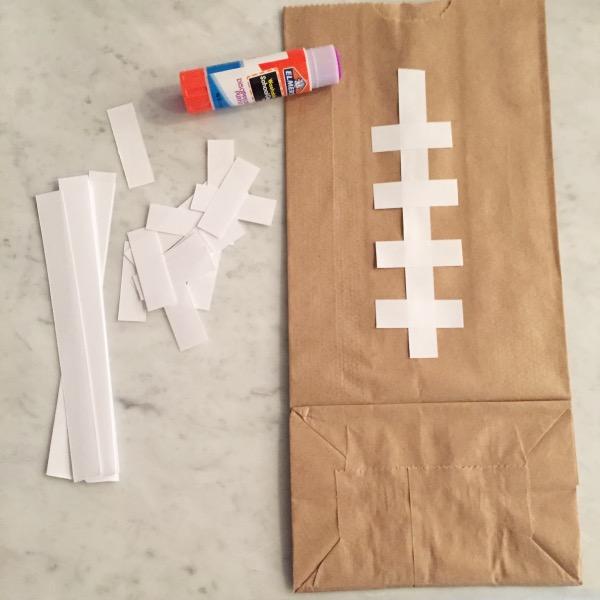 Football Paper Bag
