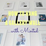 How to hang a gallery wall with Minted