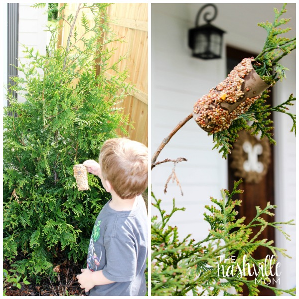 Earth Day Bird Feeders