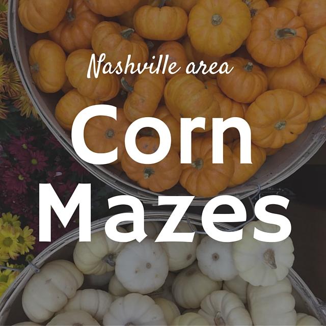 Nashville area Corn Mazes